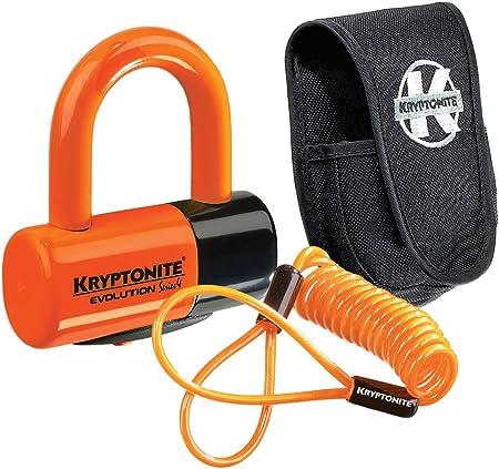 Kryptonite 3500363 Motorradschloss Orange 14 Millimeter Sport Freizeit