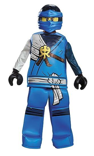 Ninjago Halloween Costume.Amazon Com Uhc Boy S Jay Prestige Ninjago Lego Kids Outfit
