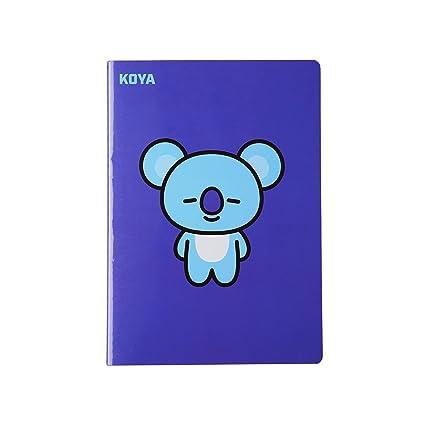 BT21 Koya Nota A5: Amazon.es: Oficina y papelería