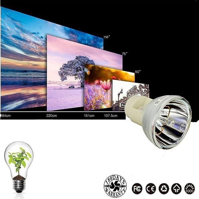 5J.JCA05.001 Premium Projector Replacement Lamp Bulb Fit for BenQ W1110 W1210ST W2000 HT2050 HT3050 HT2150ST HT4050 DW843UST DX842UST MW831UST MW843UST MX842UST AWO 5J.JEE05.001