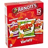 Arnotts Shapes Variety Pack Biscuits 375 g, 375 g
