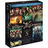 Pirati dei Caraibi Collection (5 Blu-Ray)