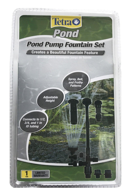 Amazoncom TetraPond Fountain Set For Water Garden Pumps Pet - Amazon pond pumps