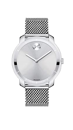 aadb64465 Image Unavailable. Image not available for. Color: Movado Women's Bold Thin Stainless  Steel Watch ...