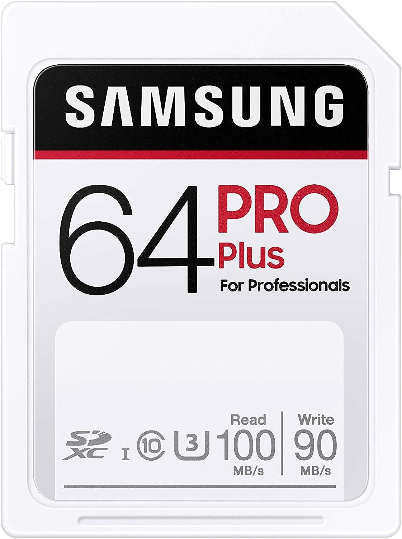 Samsung Pro Plus 64gb Sdxc Uhs I U3 100mb S Full Hd 4k Uhd Speicherkarte