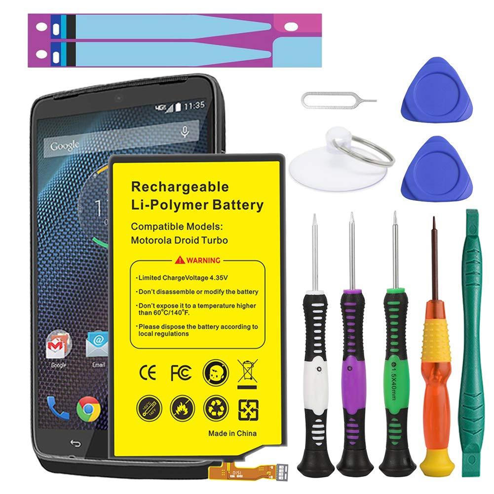 Bateria Celular Euhan 3900mAh Rechargeable Li Polymer SNN5949A para Motorola Droid Turbo XT1254 XT1225 XT928 EQ40 + Kit