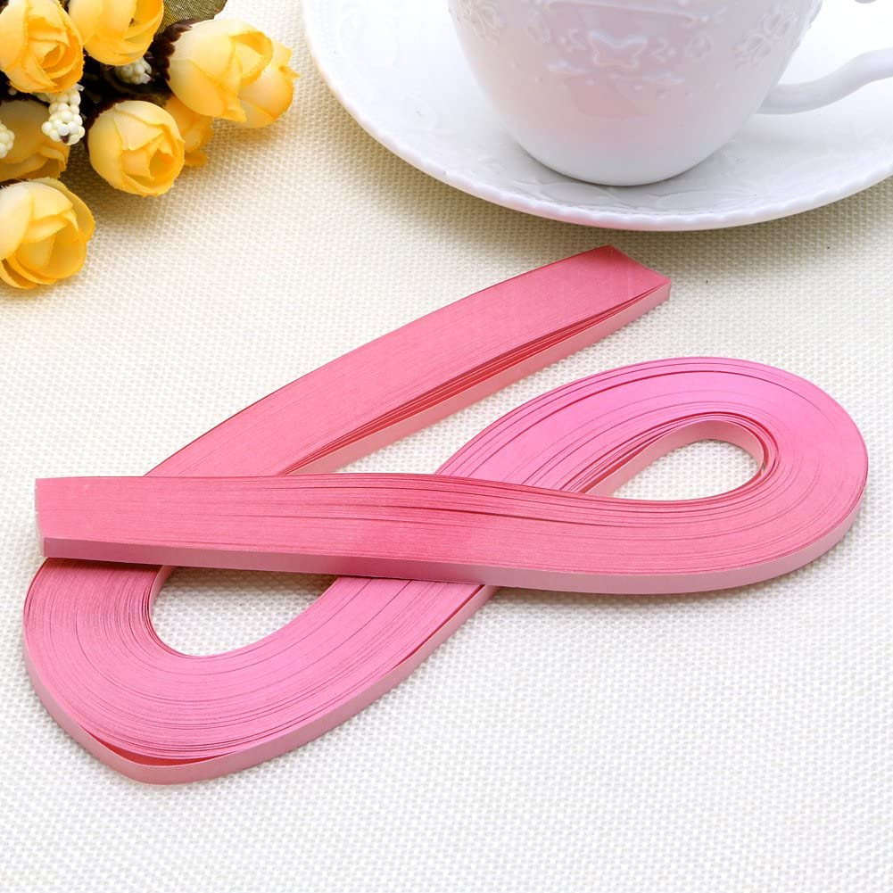 jiulonerst 120 Stripes Quilling Paper 5mm Width Origami Paper DIY Hand Crafts