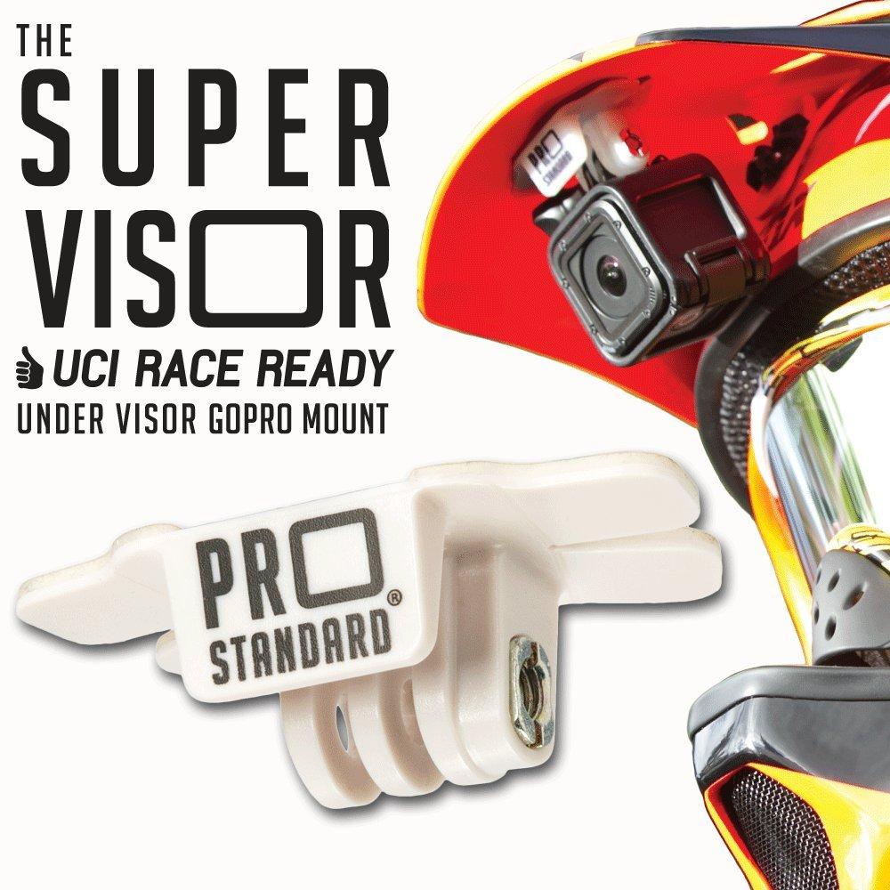 Super Visor Low Profile Under Visor Helmet Mount for GoPro Cameras Pro Standard