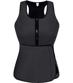 abc29546b3f6e YIANNA Sweat Neoprene Sauna Suit Tank Top Vest with Adjustable ...