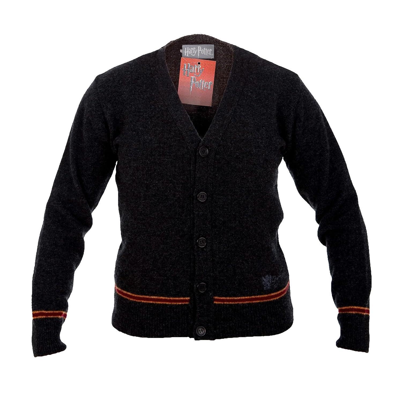 Elbenwald Harry Potter Gryffindor chaqueta de punto Hogwarts uniforme de la chaqueta de la pel/ícula fija 100/% lana de cordero