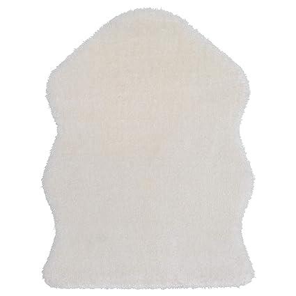 Oveja sintética manta alfombra manta para silla IKEA tejn de peluche color blanco – Set de