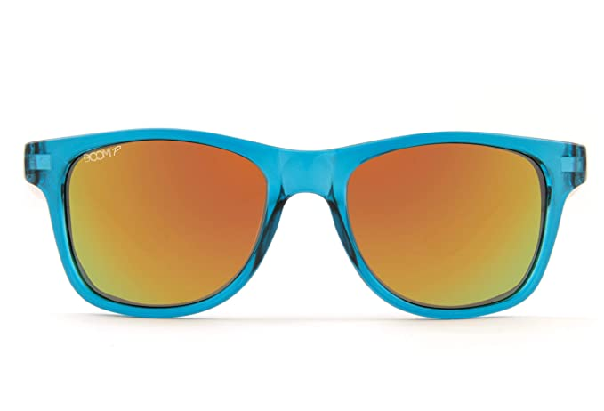 dd3ee6b32e Amazon.com  Boom Spectrum Polarized Sunglasses by Dimensional Optics - AQUA  2.0  Clothing