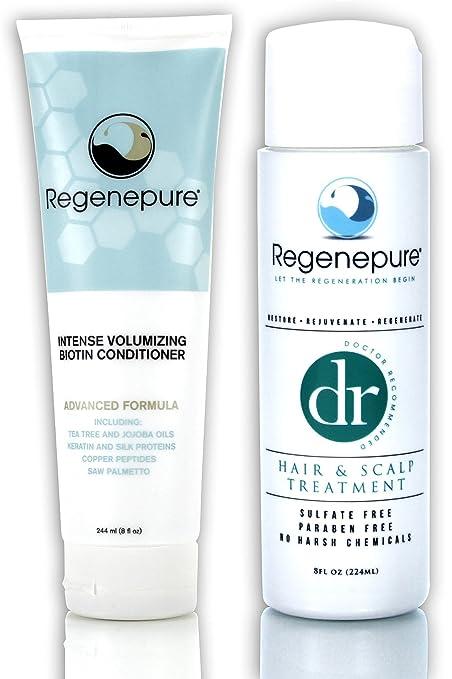 Regenepure - Acondicionador de biotina DR anticaída y anticaspa