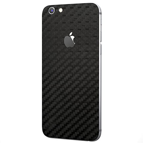 new concept c597d d799d Black Carbon Fiber SKINTZ Protective Skin Wrap Compatible with iPhone 6 /  iPhone 6s