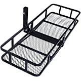 Amazon Com Atv Front Amp Rear Cargo Carrier Basket Rack