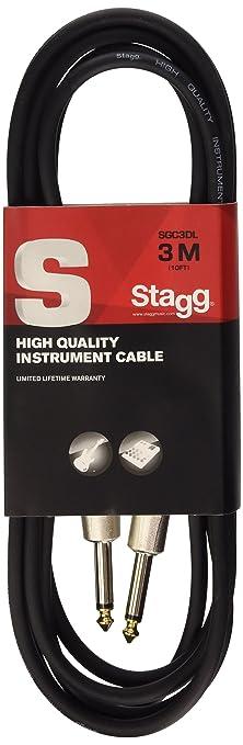 83 opinioni per Stagg SGC3DL Cavo Pro-Serie Deluxe per Strumenti Musicali da Jack 6,3 mm a Jack