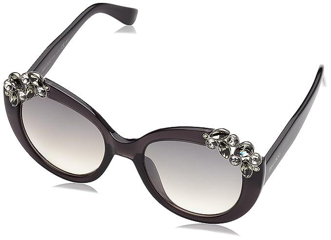 Jimmy Choo Megan/S IC Gafas de Sol, Dark Grey, 53 para Mujer ...
