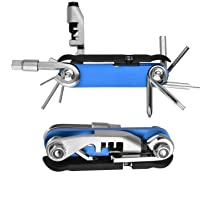 Powerdelux Bicycle Multi Tool with Chain Splitter Cutter Breaker & 1pc Detachable Tire Lever
