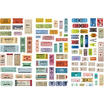 Amazon.com: Aoruisier 1 Set Hand Account Sticker Material ...