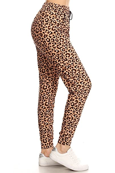 Amazon.com: Leggings Depot Premium Jogger Pantalones de ...