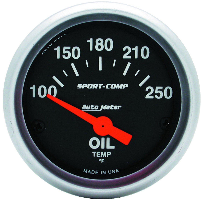 Auto meter 3347 Sport-Compact Oil Temperature Gauge