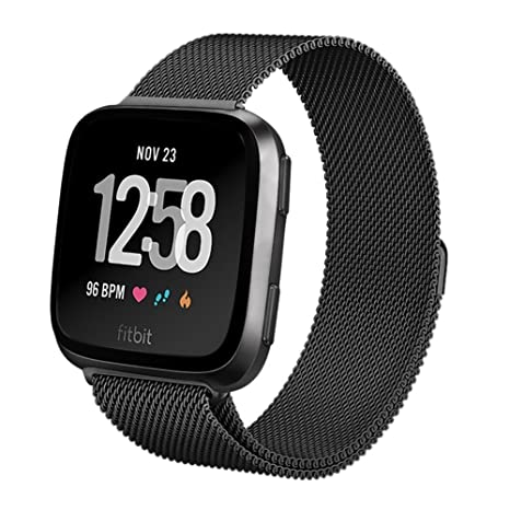 Yakoye Fitbit Versa - Correa de repuesto para reloj inteligente Fitbit Versa, tamaño pequeño,