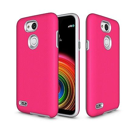 newest 693a1 0f135 LG X Power™ 3 (LMX510WM) Case, Skypillar Canada, [Dual Layer][Anti ...