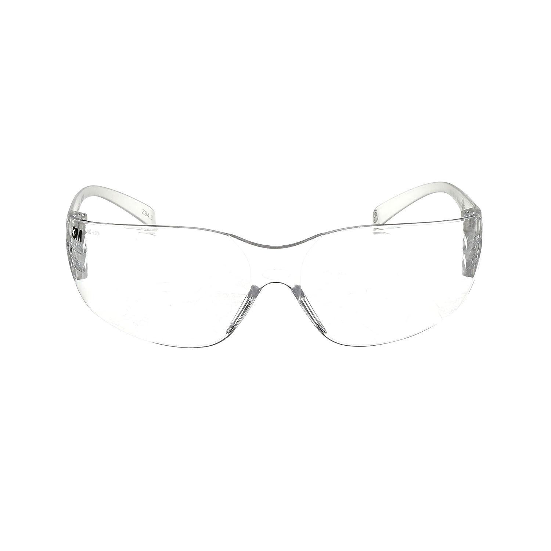 3M Virtua Reader Protective Eyewear 11514-00000-20 Clear Anti-Fog Lens, Clear Temple, +2.0 Diopter
