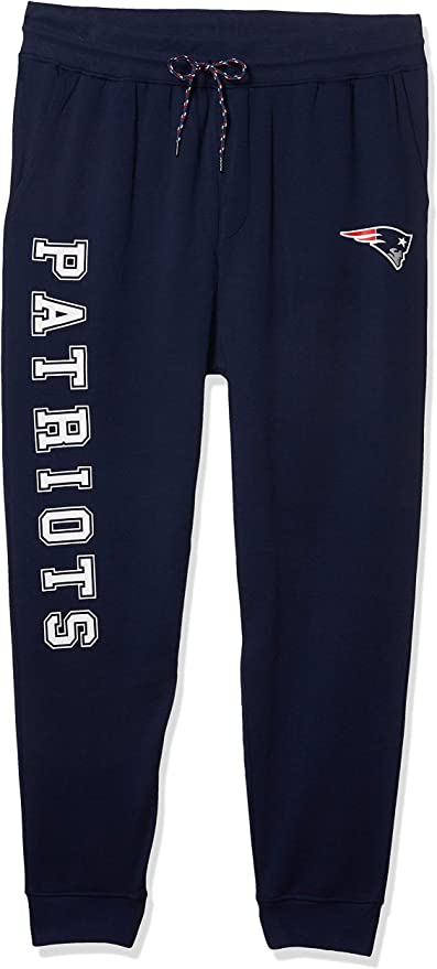 NFL New England Patriots Ultra Game Womens RELAXED FIT JOGGER Team Color X-Large
