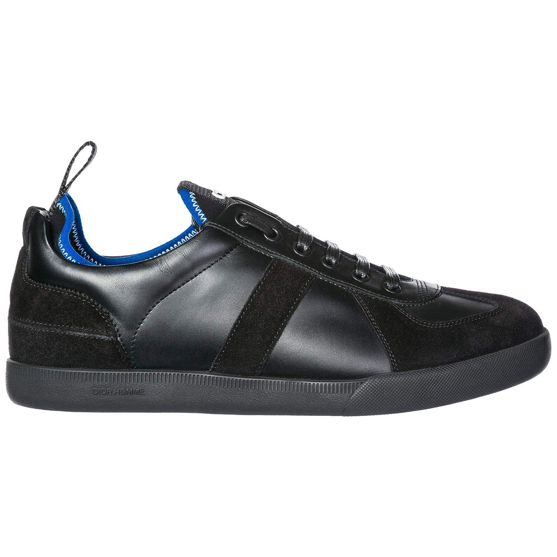 69617ee062c Dior Chaussures Baskets Sneakers Homme en Cuir Noir  Amazon.fr  Chaussures  et Sacs
