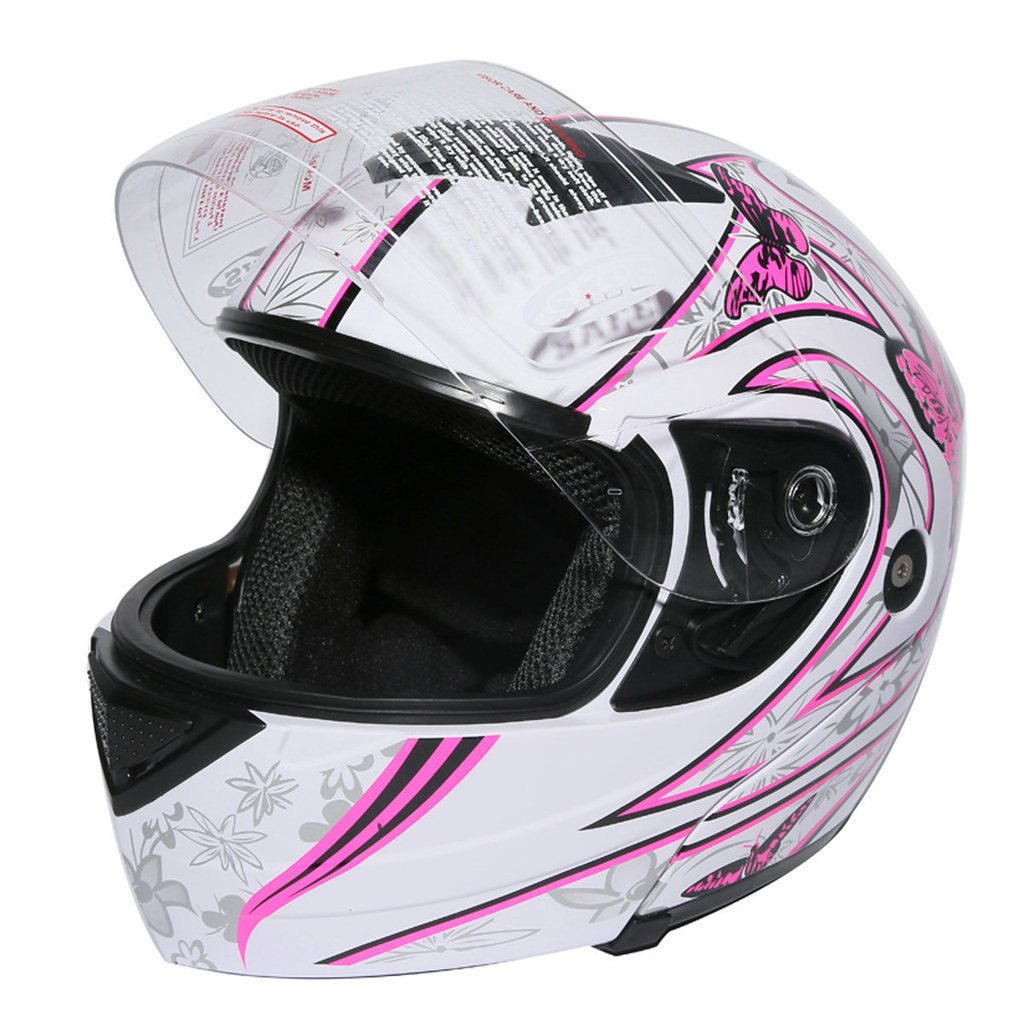 Motorcycle gloves pink - Amazon Com Xfmt Pink Butterfly Flip Up Motorcycle Modular Full Face Women Motorcycle Helmet L Automotive