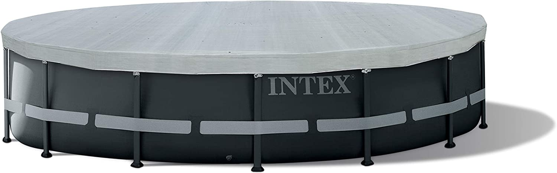 Intex 28040 - Cobertor piscina metálica Ultra Frame 488 cm con protección rayos uv