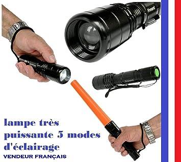 Lampe Torche A Led Fa 0515 Rechargeable Ultra Puissante Portee De