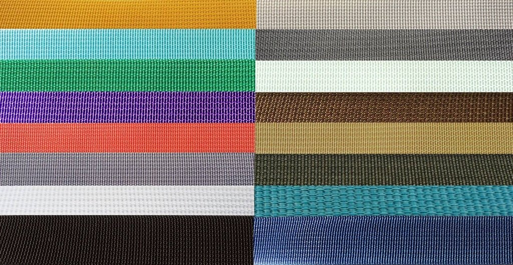 The Northwest Company 17337 Nylon Backpack Webbing Available in 4 Widths, 6 lot sizes, 29 colors. (2'' Marigold, 20 yards) by The Northwest Company
