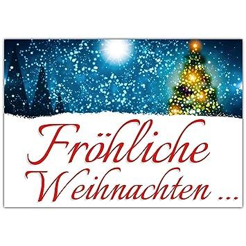 A4 Xxl Weihnachtskarte Weihnachtslichter Mit Umschlag Edle