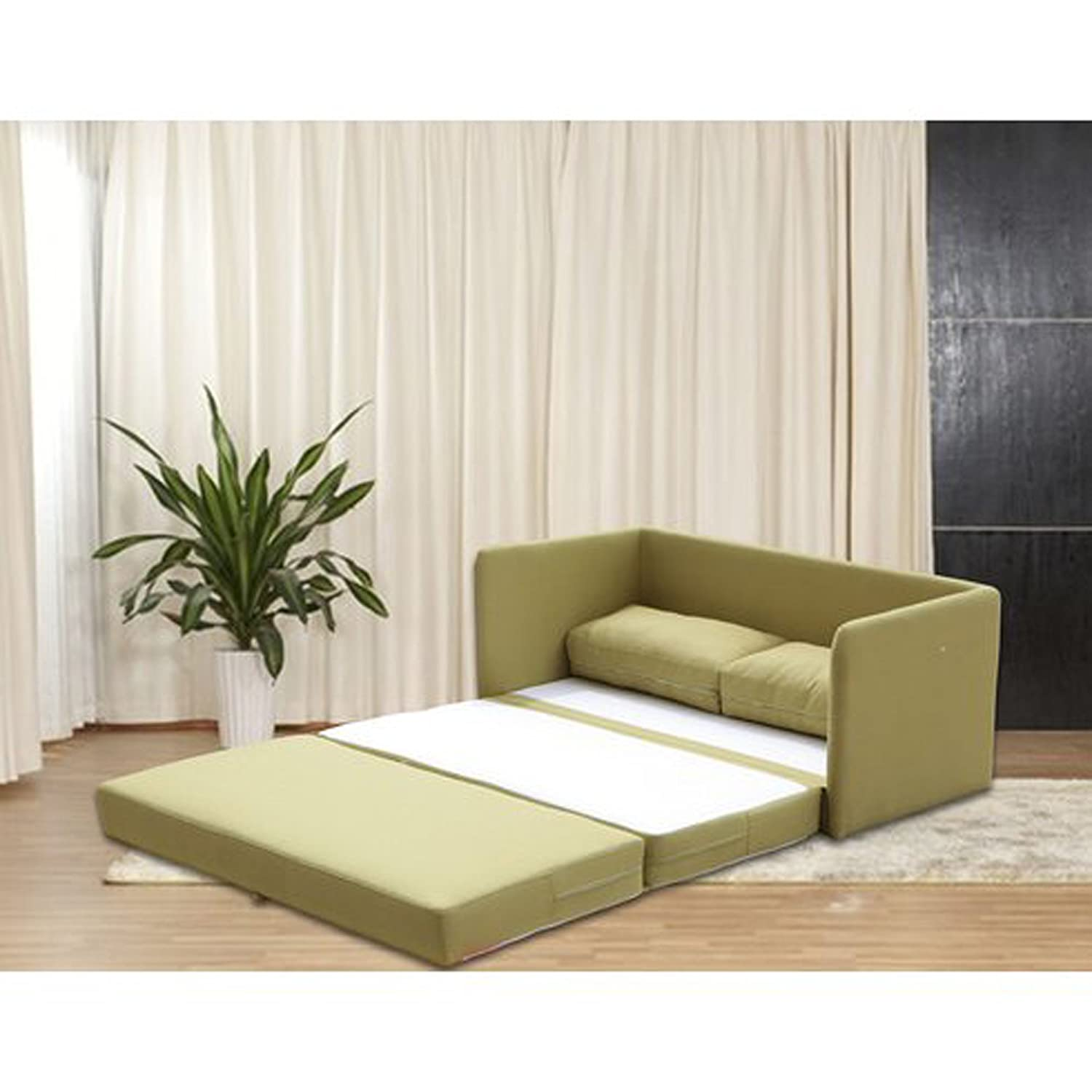 Amazon.com: Sleeper Loveseat - Convertible to Full Size ...