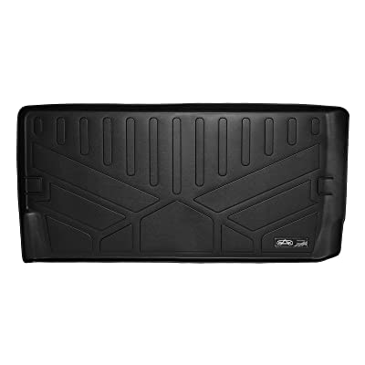 MAXLINER All Weather Cargo Liner Floor Mat Behind 3rd Row Black for 2011-2020 Dodge Durango: Automotive