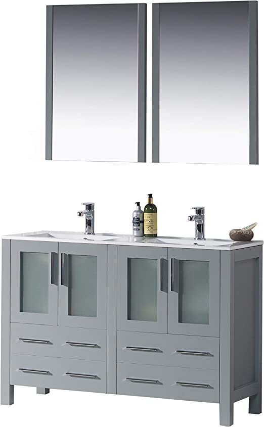 Amazon Com Blossom Sydney 48 Inches Double Bathroom Vanity