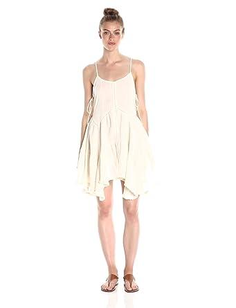 cf61bd3a7b6 Moon River Women s Linen Sun Dress with Eyelet Detail at Amazon ...