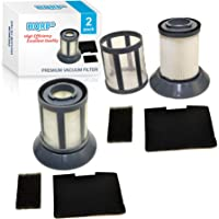 HQRP 2-Pack Dirt Cup Filter Assembly for Bissell 6489/64892 / 64894 Zing