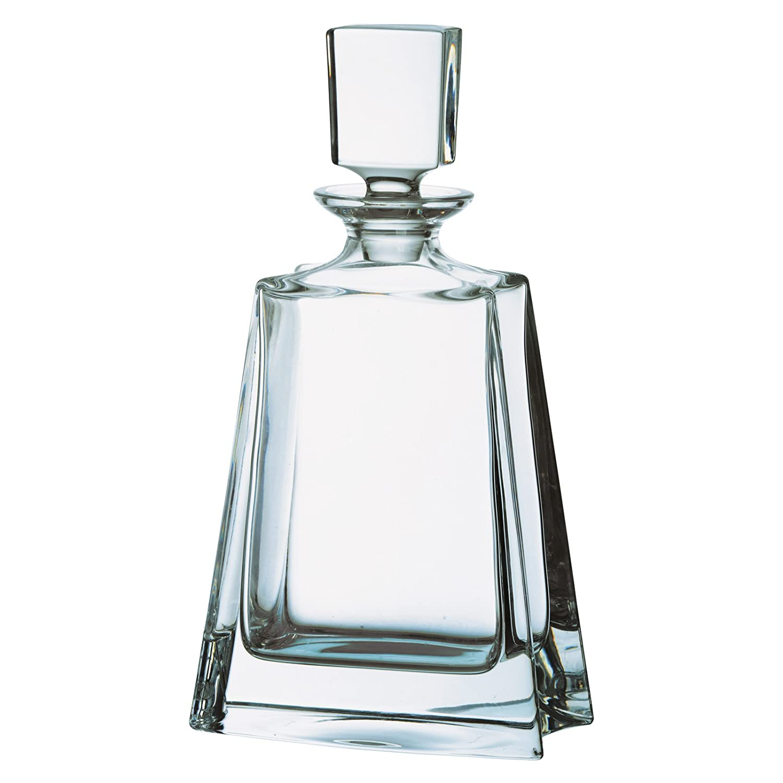 Transparent Bohemia Medium 24 Percent Lead Crystal Boston Decanter