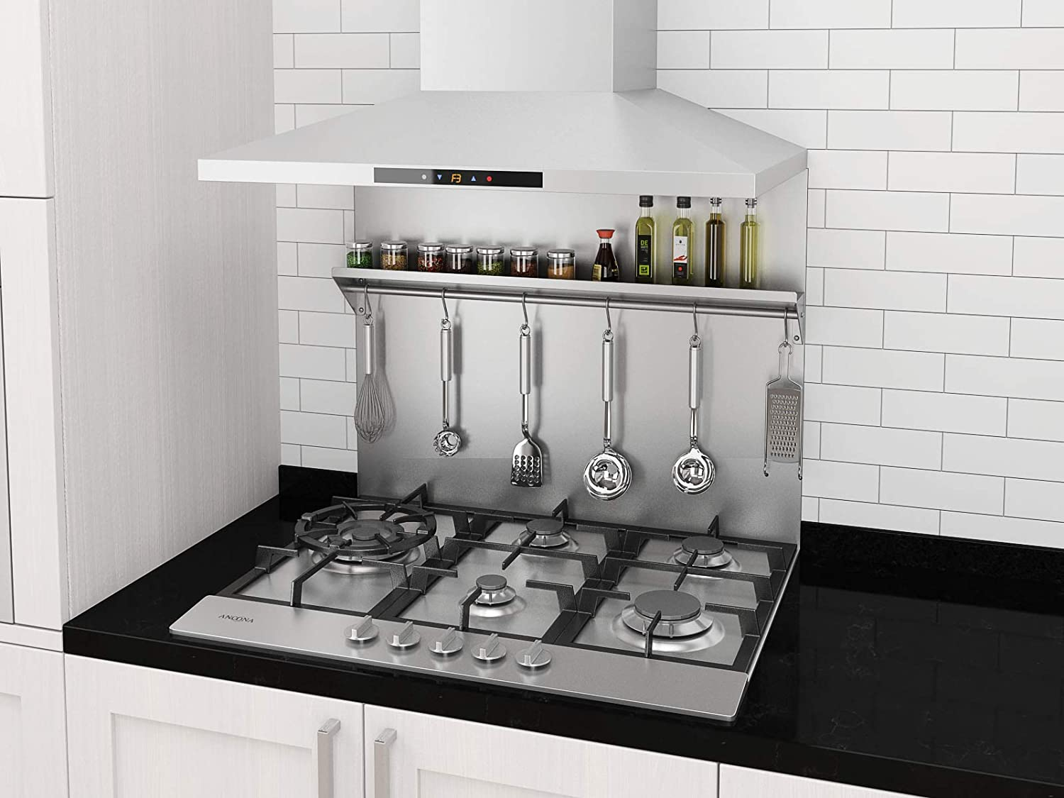 - Ancona PBS-1230 30 In. X 30.75 Stainless Steel Backsplash With