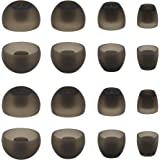 ALXCD Ear Adapters for Sennheiser Momentum HD1 in-Ear Earbud, XS/S/M/L 4 Sizes 8 Pair Soft Silicone Replacement Ear Tip…