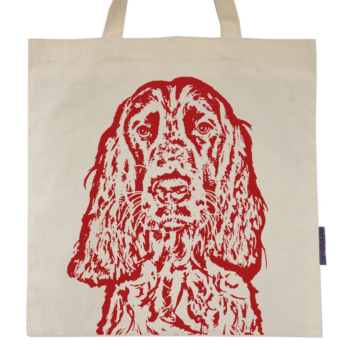 Springer Spaniel named Big Red Tote Bag