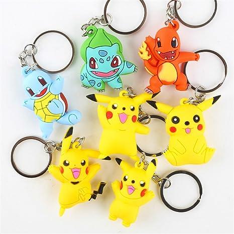 BSBL Pokemon Pikachu llavero GO Charmander Squirtle ...