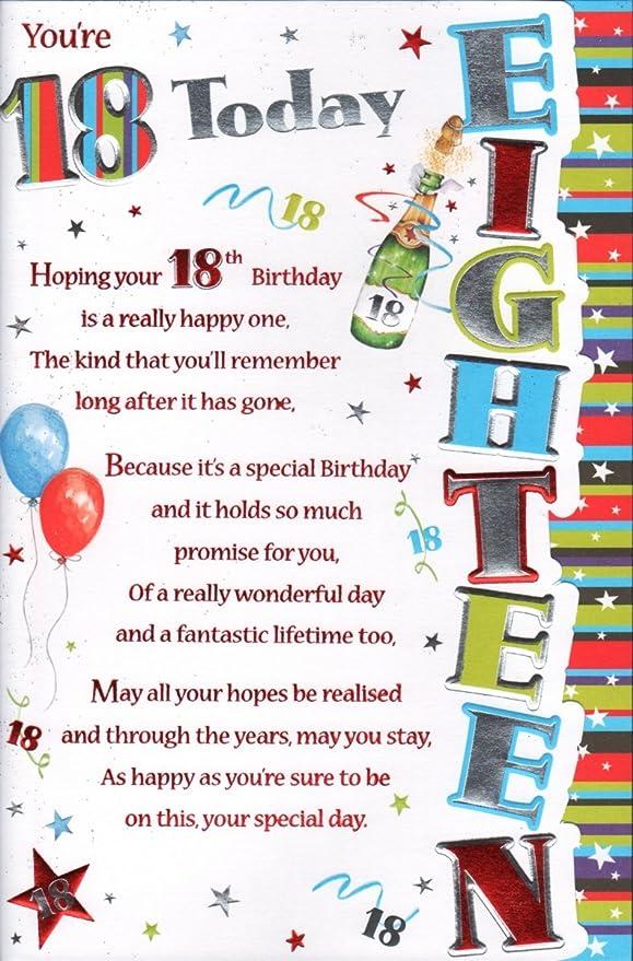 Seguro que estás 18th Tarjeta de cumpleaños - seguro que ...