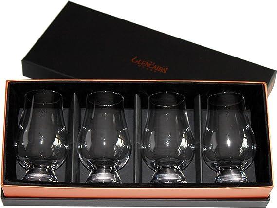 Glencairn Whisky Glass: Set of 4 in Deluxe Velvet Gift Box