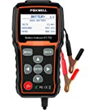 Battery Tester FOXWELL BT705 Automotive 100-2000 CCA Battery Load Tester, 12V 24V Car Cranking and Charging System Test…