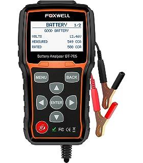 Amazon schumacher bt 100 100 amp battery load tester automotive foxwell battery tester bt705 automotive 100 2000 cca battery load tester 12v 24v car keyboard keysfo Images