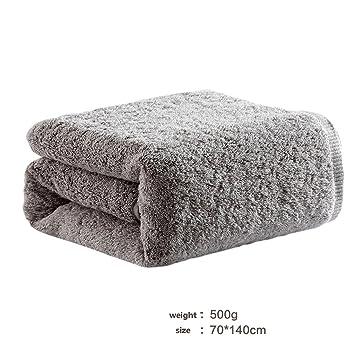 FGD202 Toallas de baño Premium - Toallas de algodón para Hotel y SPA, máxima suavidad y absorbencia con Toallas Utopia (4 Colores) (Color : Gris): ...